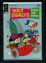 Walt Disney's Comics and Stories #385 VG 1972 Gold Key Carl Barks Comic ... - $3.26