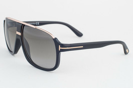 Tom Ford Eliott Black Gold / Gray Gradient Sunglasses TF335 01P - $244.02