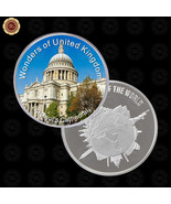 WR Wonders of Britain St.Paul's Cathedral Silver Foreign Coins Gift Ideas Men - $7.41