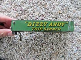 Bizzy Andy Trip Martello Presto 579mS Giocattolo Advertising Parte Pezzi - $17.96