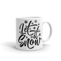 New Mug - Let it snow winter chilly coffee Mug christmas carol - £8.52 GBP+