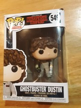 Stranger Things Ghostbuster Dustin Pop! Television Vinyl Figure - $7.90