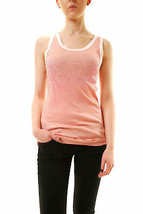 Sundry Women's Casual Striped Tank Top Sleeveless Red US1 RRP $88 BCF612 - $87.12