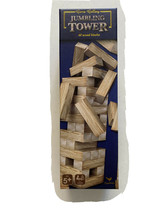 Jumbling Tower Cardinal 48 Wood Blocks Tumbling Puzzle Adult Kid Family Game - $18.22