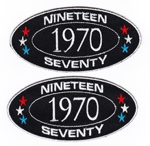 1970 SEW/IRON On Patch Embroidered Badge Emblem Chevrolet Ford Dodge Pontiac - $12.50