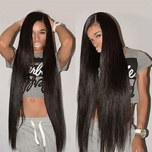 Youth Hair Straight Hair Bundles with Frontal 9A Brazilian Unprocessed V... - $53.60