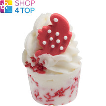 Polkadot Pot Bath Mallow Bomb Cosmetics Strawberry Tea Handmade Natural New - $4.05