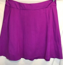Lane Bryant NWOT Plus Sz 26-28 Fuchsia Skirt Stretch Two Pocket Skirt - $24.18