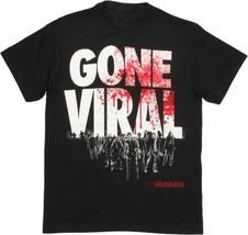 The Walking Dead Gone Viral Bloody Logo Over Walkers T-Shirt NEW UNWORN - $14.50+