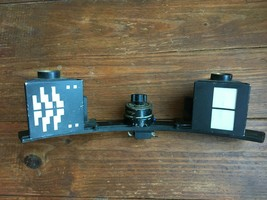 ANTIQUE c1940's METAL & GLASS ELECTRIC PERIPHERAL VISION TESTER ? - ADJU... - $299.95