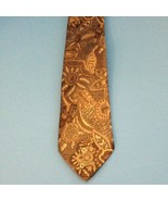 Editions by Van Heusen Men's Necktie textured feel Sage green/gold flora... - $8.15