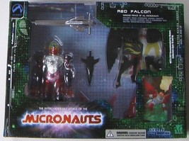 MICRONAUTS RED FALCON Deluxe boxed edition - $47.52