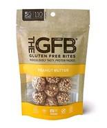 The GFB Protein Bites, Peanut Butter, 4 Ounce Pack of 6, Gluten Free, No... - $28.96
