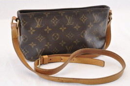 LOUIS VUITTON Monogram Trotteur Shoulder Bag M51240 LV Auth sa1678 - $320.00