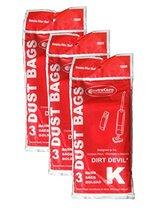 EnviroCare 9 Royal Dirt Devil Type K Stick Vac Vacuum Cleaner Bags - $8.21