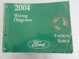 2004 Ford Taurus Sable Electrical Wiring Diagrams Service Manual OEM Workshop - $8.25