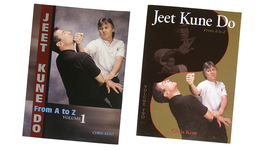 2 Book Set Bruce Lee's Jeet Kune Do A-Z by Chris Kent wing chun kung fu - $28.00