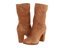 New in Box - $398 FRYE Mirabelle Short Taupe Suede Leather Boots Size 11 - $2.879,34 MXN