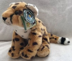 "PLUSH Wild Republic Cuddlekin Baby Cheetah 12"" Stuffed Animal Soft 80176 NEW - $13.85"