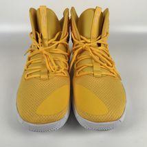 Nike Hyperdunk X TB yellow Men's size 16 Basketball Shoes AT3866 701 image 3