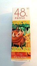 Lion King Tower Jigsaw Puzzles Simba and Timon Riding Pumbaa 48 Pieces Ages 6+ - $6.93