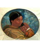 Nori Peter Plate Motherhood People of the Midnight Sun Kaiser ARTIST SIGNED - $47.49