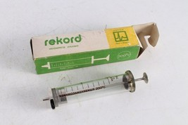 Antique Old Bulgarian Made Original Record Medical Glass Syringe in a Box. - $25.84