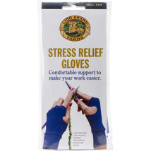 Lion Brand Stress Relief Gloves 1 Pair-Small - $18.49