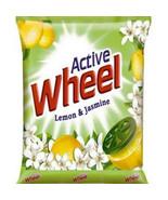 Wheel Active Lemon & Jasmine Detergent Powder Surf For Cloths  * 1 kg pa... - $32.12