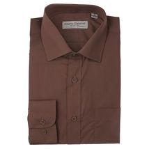 Alberto Cardinali Men's Tailored Fit Long Sleeve Wrinkle Resistant Dress Shirt image 8