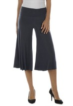 Last Tango Soft Flowing Ultra Chic Metal (Steel Gray) Gauchos! - $34.90