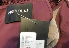 NICHOLAS STUNNING BANDAGE COLD SHOULDER DRESS SIZE 10 NWT $595 image 9
