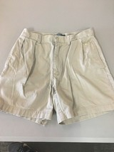 Mens Polo by Ralph Lauren Classic Fit Short Size 32 Shorts - Khaki - Cotton B91 - $12.59