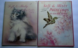 Kathy Snider Vol 2&3 Soft & Misty Lot of 2 Painting Books Animals, Lands... - $15.47