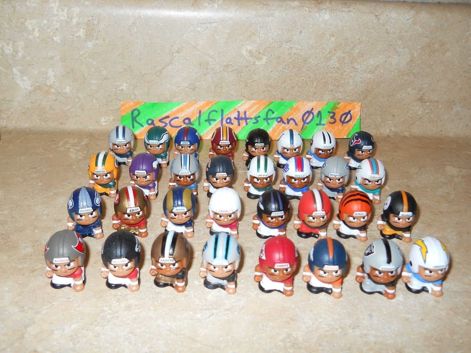 Primary image for 2016 NFL TEENYMATES SERIES 5 FOOTBALL - PICK YOUR FOOTBALL TEAM FIGURE NEW NEW!!