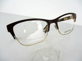 Calvin Klein Ck 8021 (208) Mocha / Gold / Tortoise 53 X 18 135 mm Eyegla... - $62.32