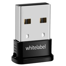 Whitelabel Bluetooth 4.0 USB Dongle Adapter for PC with Windows 10 / 8.1... - $7.55