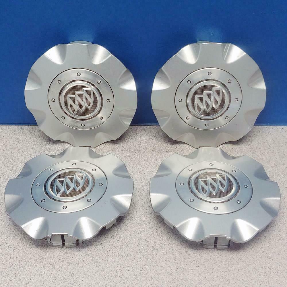 "1997 TO 2002 buick Regal CENTURY 15/"" SILVER 16 SPOKE wheel center caps cap"