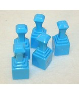 jax Shake up strategy Game replacement Blue Pawns Pieces - $14.95