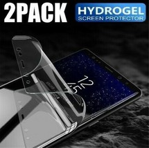 2-Pack HYDROGEL Screen Protector Samsung Galaxy S20 Ultra S10 S9 S8 Plus... - $8.99