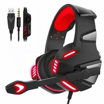 Recon 200 Headset 3.5mm Stereo Surround Gaming Headset With Mic For PS4 XBOX Red - $38.99