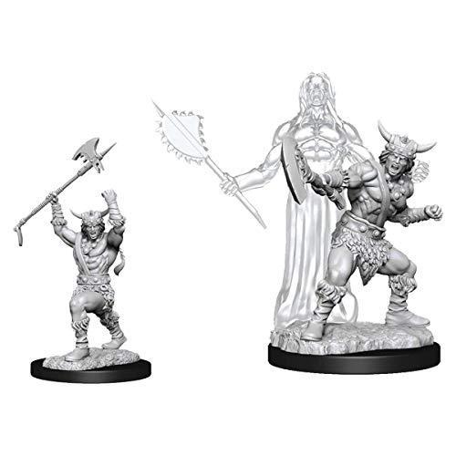 WizKids D&D Nolzurs Marvelous Upainted Miniatures: Wave 11: Male Human Barbarian - $6.68