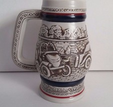 Avon 1982 Automobile Vintage Classic Cars Miniature Beer Stein Ceramarte... - $8.60