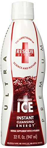 Rescue Detox I.C.E 32 oz Mangosteen Cranberry