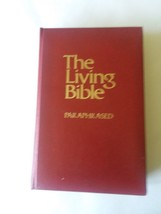 The Living Bible Paraphrased 1971 Red Padded Cover - $24.74