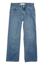 NEW KIDS LEVIS BLUE JEANS 550 SLIM RELAXED TAPERED SIZE 10H 91H550 C30 - $22.22
