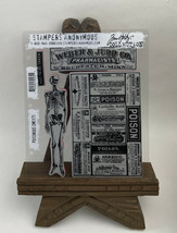 Tim Holtz Cling Rubber Stamps POISONOUS CMS171 - $19.75