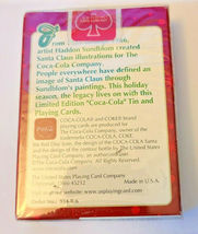 Santa Claus Coca~Cola Deck of Playing Cards   (#011) image 6
