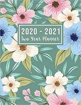 2020-2021 Two Year Planner: 2020-2021 see it bigger planner | Flower Wat... - $15.19