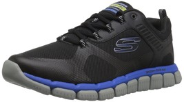 Skechers Sport Men's Skech Flex 2.0 Kominar Sneaker Black 10 M US - $69.30